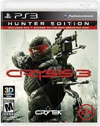 Usado Jogo PS3 Crysis 3 Limited Edition - Electronic Arts