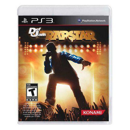Jogo PS3 Def Jam Rapstar - Konami