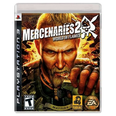 Jogo PS3 Mercenaries 2: World in Flames - Electronic Arts