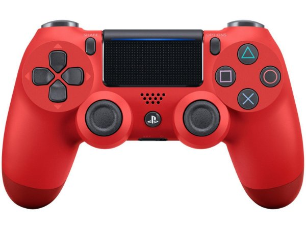 Controle PS4 Dualshock 4 Vermelho - Sony