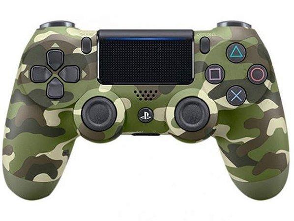 Controle PS4 Dualshock 4 Verde Camuflado - Sony