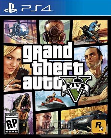 Jogo PS4 Grand Theft Auto Five GTA 5  - Rockstar