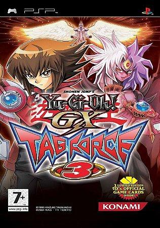 Jogo PSP Yu-Gi-Oh GX Tag Force 3 - Konami