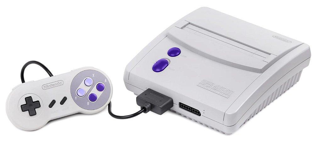 Usado Console Super Nintendo Baby c/ 1 Controle - Nintendo