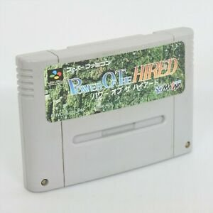 Usado Jogo Nintendo Super Famicom Power Of The Hired