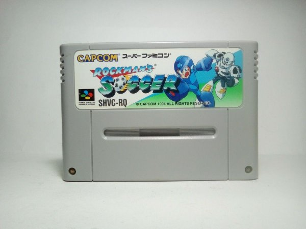 Usado Jogo Nintendo Super Famicom Rockman Soccer SHVC-RQ - Nintendo Japonês