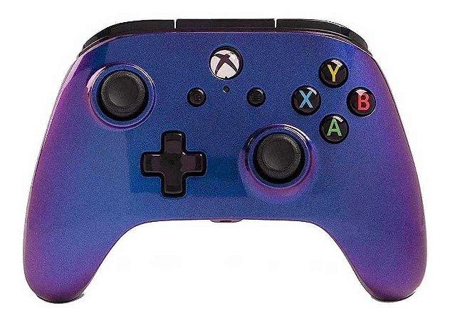 Controle Com Fio Para Xbox One Enhanced Wired  Safhire Fade- Power A