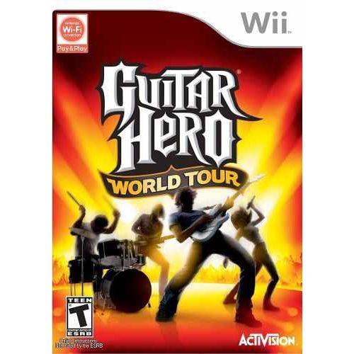 Usado Jogo Nintendo Wii Guitar Hero World Tour - Activision