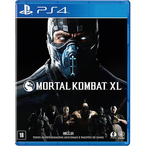 Jogo PS4 Mortal Kombat XL - Warner Bros Games