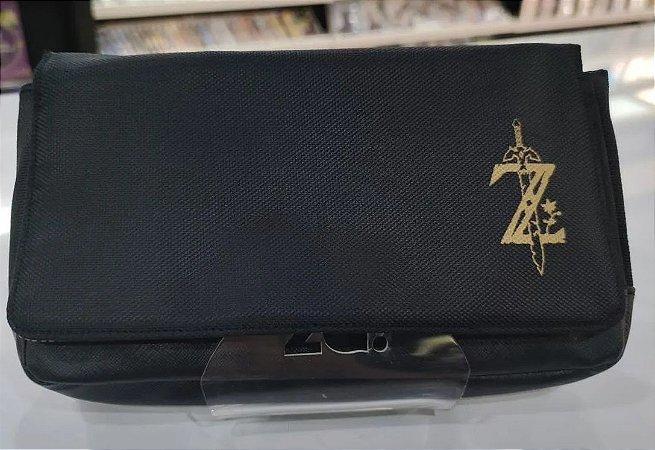 Case Nintendo Switch Proteção Porta Jogos Edição Zelda - Importado