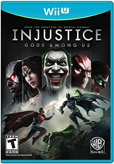 Jogo Wii U Injustice Gods Among Us - Warner Bros
