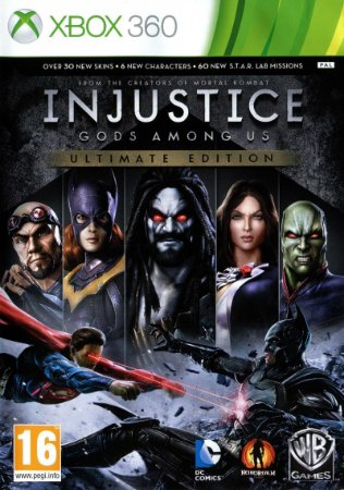 Usado Jogo Xbox 360 Injustice Gods Among Us Ultimate Edition- Warner Bros