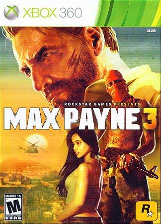 Jogo Xbox 360 Max Payne 3 - Rockstar