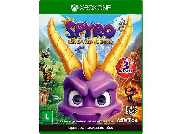 Jogo Xbox One Spyro Reignited Trilogy - Activision