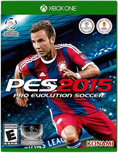 Jogo Xbox One PES 2015 Pro Evolution Soccer 2015 - Konami