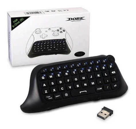 Mini Teclado Sem Fio Bluetooth para Xbox One / S Wireless Keypad - Dobe