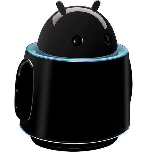 Caixa De Som MP3 Portátil Robô 4W RMS Preto - Maxprint