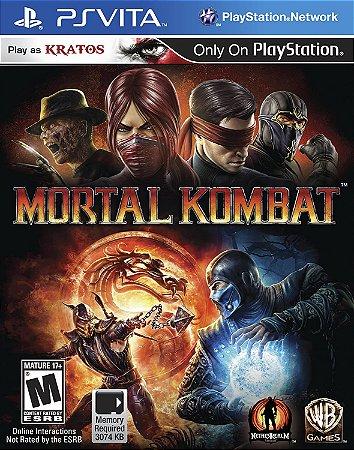 Usado Jogo PS Vita Mortal Kombat 9 - Warner Bros Games
