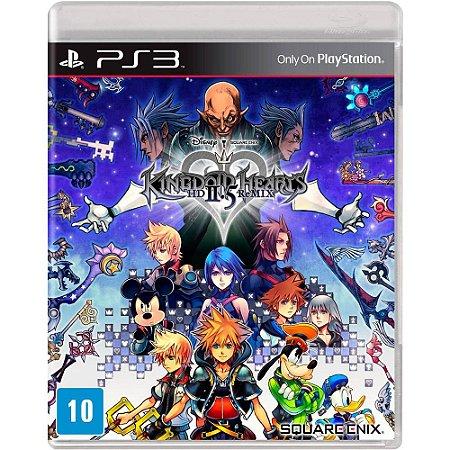 Usado Jogo PS3 Kingdom Hearts HD 2.5 ReMIX - Square Enix
