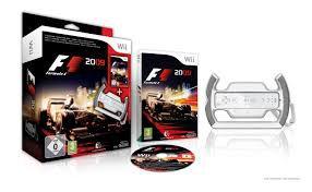 Jogo Nintendo Wii F1 2009 Com Volante - Nintendo