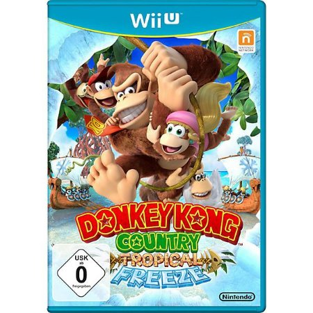Usado Jogo Nintendo Wii U Donkey Kong Country Tropical Freeze - Nintendo