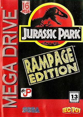 Jogo Mega Drive Jurassic Park Rampage Edition | Na Caixa - Sega