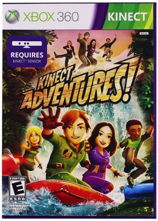 Usado Jogo Xbox 360 Kinect Adventures - Microsoft