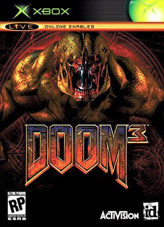 Usado Jogo Xbox 1 Classic  Doom 3 Somente o Game - Activision