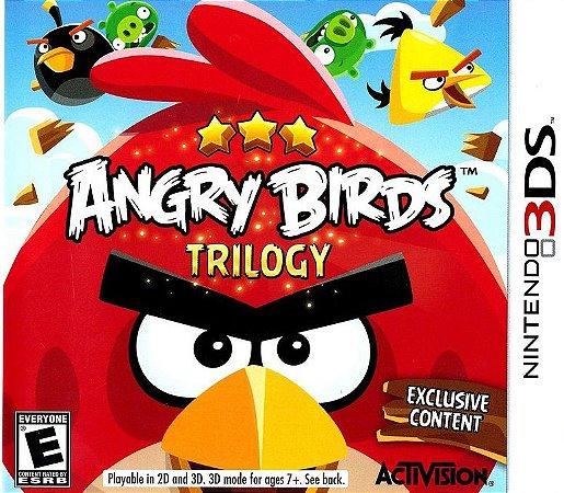 Usado Jogo Nintendo 3DS Angry Birds Trilogy - Activision
