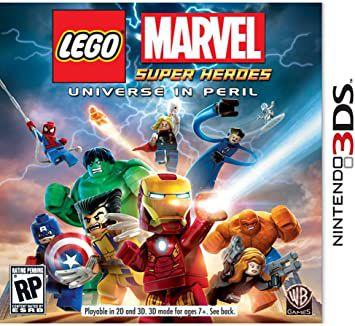 Jogo 3DS Lego Marvel Super Heroes - Warner Bros Games