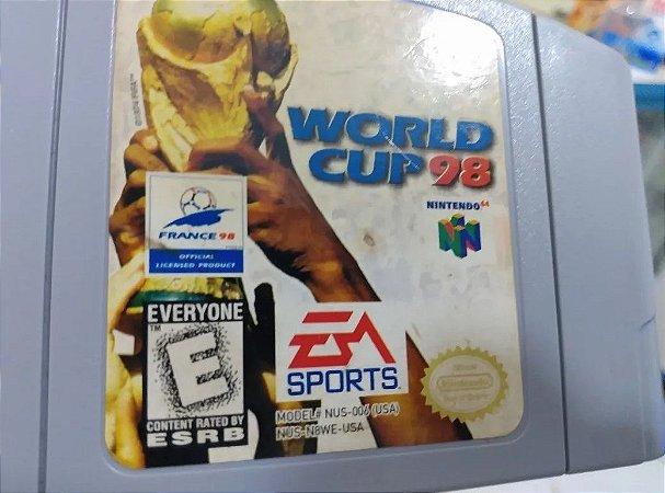 Usado Jogo Nintendo 64 FIFA World Cup 98 - Nintendo