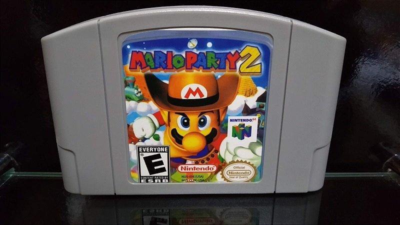 Usado Jogo Nintendo 64 Mario Party 2 - Nintendo