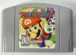 Usado jogo Nintendo 64 Mario Party - Nintendo