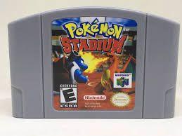 Usado Jogo Nintendo 64 Pokémon Stadium - Nintendo