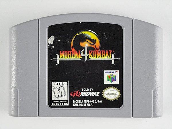 Jogo Nintendo 64 Mortal Kombat 4 - Midway