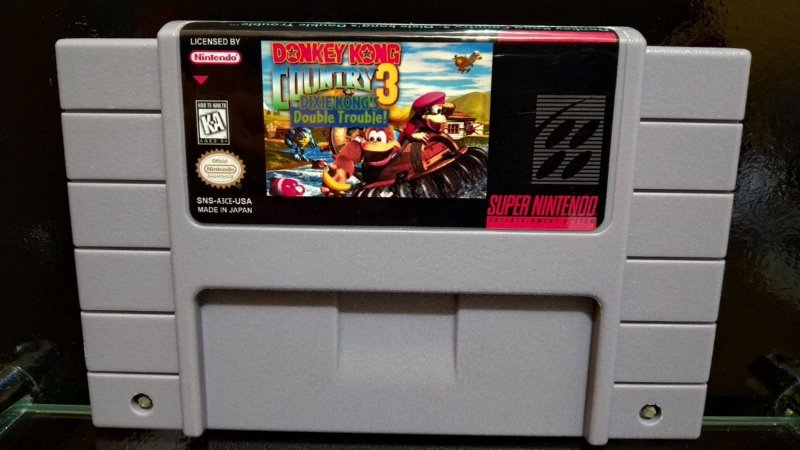 Usado Jogo Super Nintendo Super Donkey Kong Country 3: Dixie Kong's Double Trouble - Nintendo
