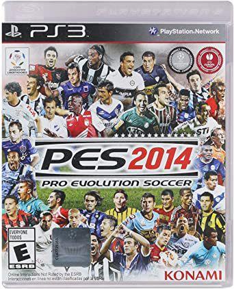 Jogo PS3 Pro Evolution Soccer 2014 PES 2014 - Konami