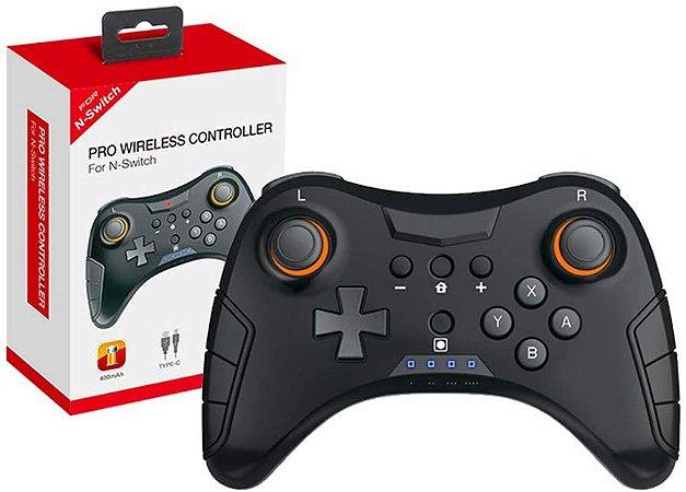 Controle Pro Sem Fio Para Nintendo Switch - Importado
