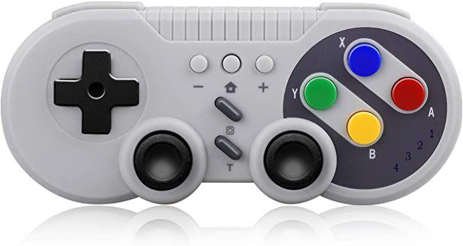 Controle Sem Fio Nintendo Switch Pro Wireless Pro para Switch, PC e Android - Importado
