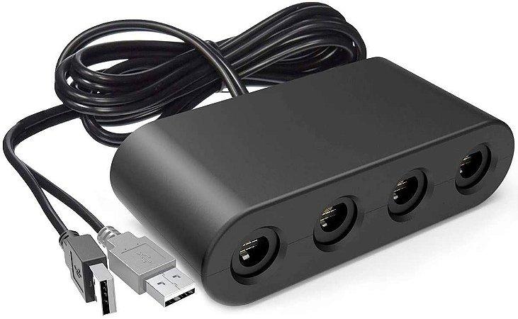 Adaptador Controle De Gamecube Para Nintendo Switch - PC - WII U - Importado