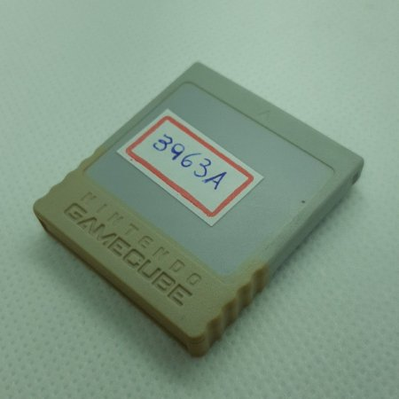 Usado Acessório Memory Card Game Cube Amarelado - Nintendo