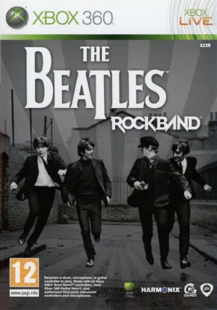 Usado Jogo Xbox 360 Rock Band The Beatles - HARMONIX