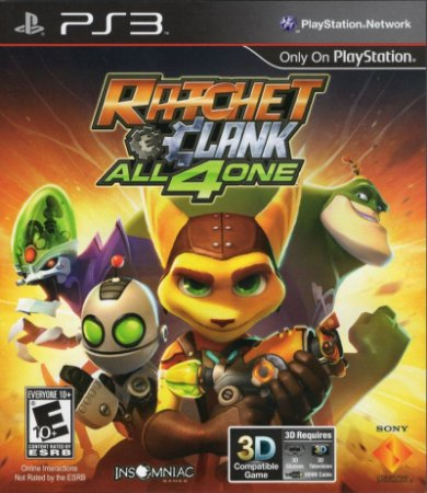 Usado Jogo PS3 Ratchet & Clank: All 4 One - Sony