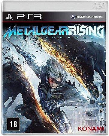 Jogo PS3 Metal Gear Rising: Revengeance - Konami