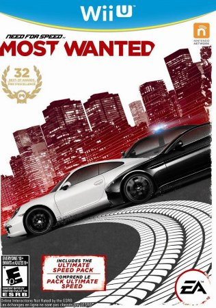 Jogo Nintendo Wii U Need For Speed: Most Wanted - EA