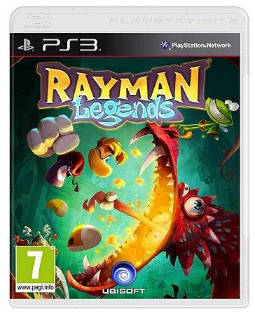 Usado Jogo PS3 Rayman Legends - Ubisoft