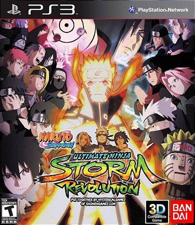Usado Jogo PS3 Naruto Shippuden: Ultimate Ninja Storm Revolution - Bandai Namco