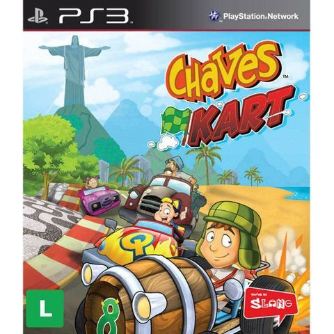 Jogo PS3 Chaves Kart - Slang
