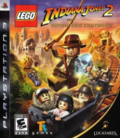 Usado Jogo PS3 Lego Indiana Jones 2 - LucasArts