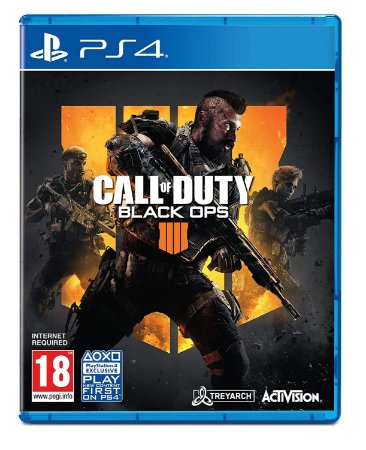 Jogo PS4 Call of Duty Black Ops 4 - Activision